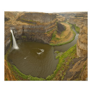 200 foot high Palouse Falls State Park in Photographic Print