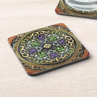 [200] Treasure Trove: Celtic Cross Beverage Coasters
