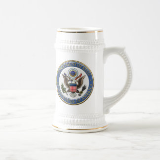 [200] U.S. Department of State (DoS) Emblem [3D] Beer Stein
