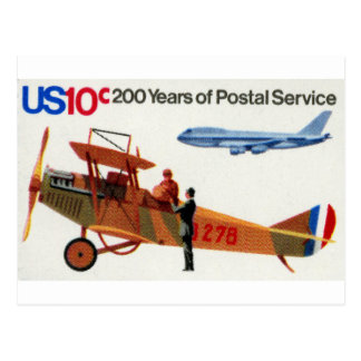 200 Years of Postal Service 02 Postcard