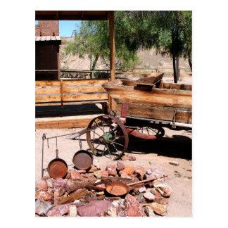 2010-06-26 C Las Vegas (189)abandoned_campsite2.JP Postcard