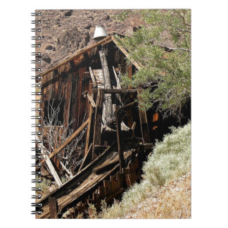 2010-06-26 C Las Vegas (210)desert_cabin.JPG Spiral Notebook