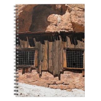 2010-06-26 C Las Vegas (238)rock_shack.JPG Spiral Notebook