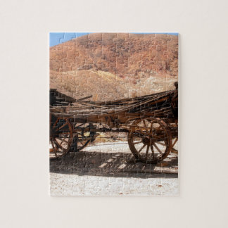 2010-06-28 C Calico Ghost Town (53)old_wagon Jigsaw Puzzle