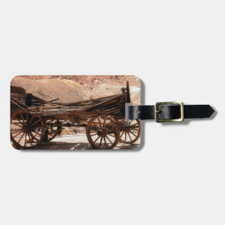 2010-06-28 C Calico Ghost Town (53)old_wagon Luggage Tag