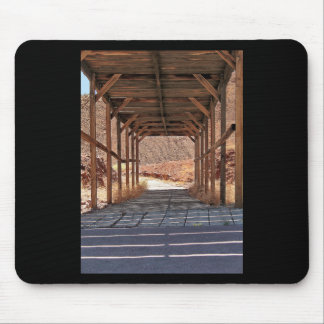 2010-06-28 C Calico Ghost Town (60)wooden_tunnel.j Mouse Pad
