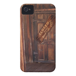 2010-06-28 C Calico Ghost Town (9)went_bankrup.JPG iPhone 4 Case-Mate Case