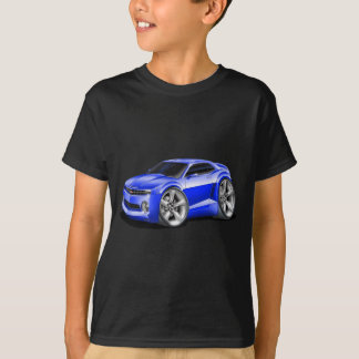 2010-11 Camaro Blue Car T-Shirt