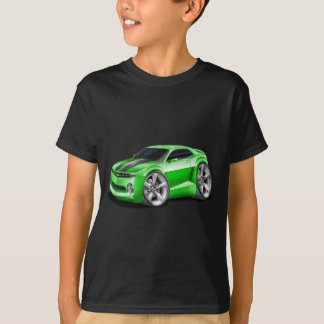 2010-11 Camaro Green-Black Car T-Shirt