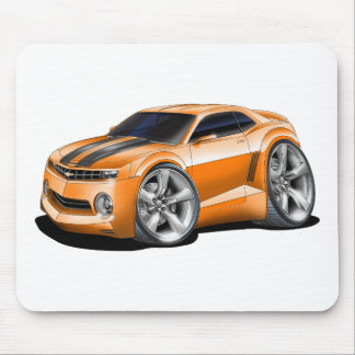 2010-11 Camaro Orange-Black Car Mouse Pad