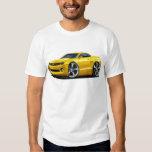 2010-12 Camaro Yellow Car Tee Shirts