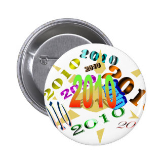 2010 again and again pinback buttons