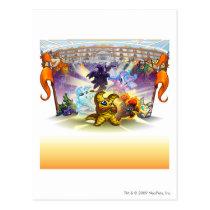 2010 Altador Cup postcards