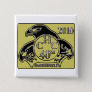 2010 Bakersfield 15 Cm Square Badge