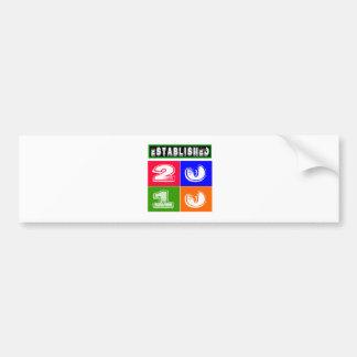 2010 Birthday Designs Bumper Sticker