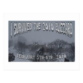 2010 Blizzard Postcard