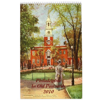 2010 Calendar Philadelphia in Old Postcards