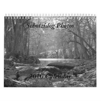 2010 Calendar, Schotzidog Photos Wall Calendars