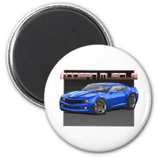 2010_Camaro_Blue 6 Cm Round Magnet
