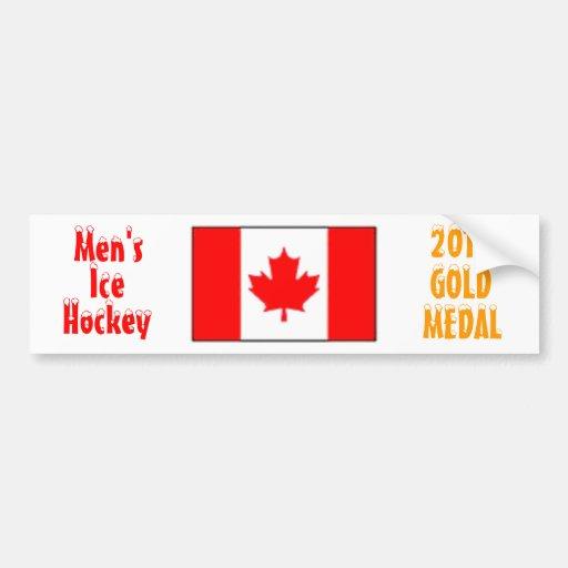 2010 Canada Men's Ice Hockey - Gold Medal Bumper Sticker