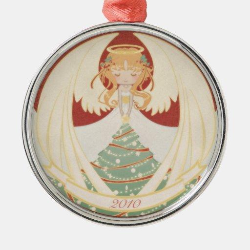 2010 Christmas Angel Christmas Tree Ornament