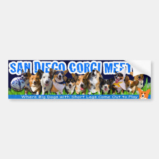 2010 Corgi Meetup Bumper Sticker