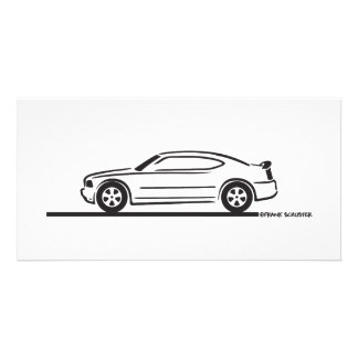 2010 Dodge Charger Photo Greeting Card