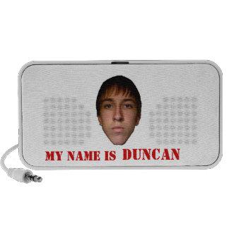 2010 Doodle Speakers, My name is Duncan