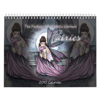 2010 Fairy Calendar Wall Calendar Molly Harrison