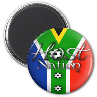 2010 Football host nation gifts & souvenirs 6 Cm Round Magnet