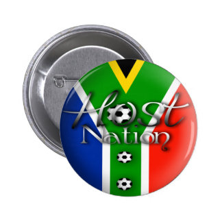 2010 Football host nation gifts souvenirs Buttons