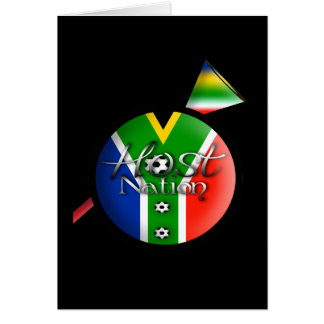 2010 Football host nation gifts souvenirs Card
