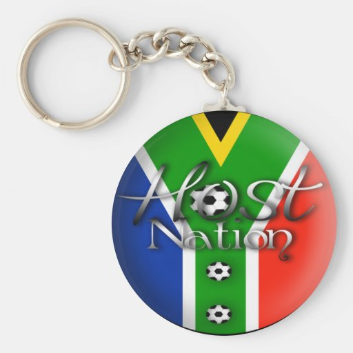 2010 Football host nation gifts & souvenirs Key Chains
