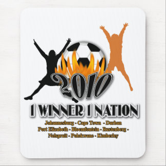 2010 Football host nation gifts souvenirs tourist Mouse Pad