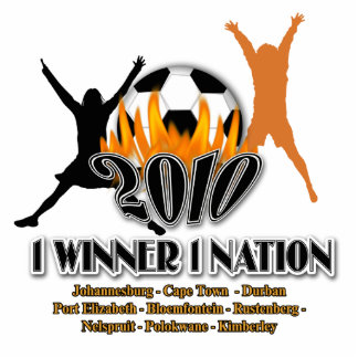 2010 Football host nation match venues - gifts Photo Sculpture Badge