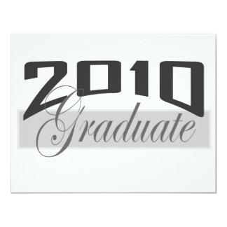 "2010 Graduate 4.25"" X 5.5"" Invitation Card"