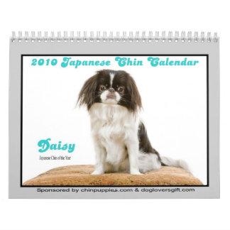 2010 Japanese Chin Calendar