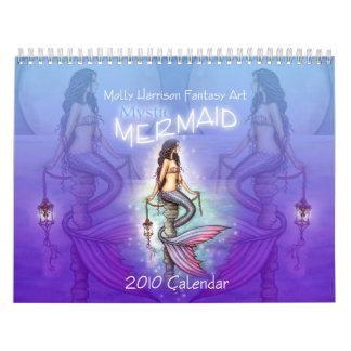 2010 Mystic Mermaid Calendar by Molly Harrison
