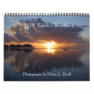 2010 Tahiti Calendar