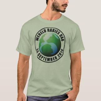 2010-Wereld Rabies Dag T-Shirt
