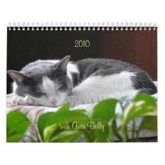 2010 with Guru Belly Wall Calendars