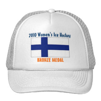 2010 Women's Ice Hockey - Bronze Medal Cap