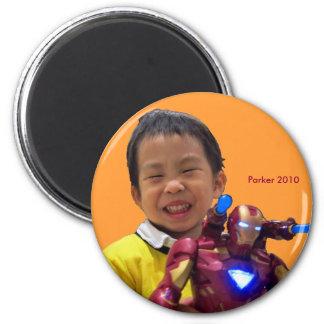2010 Xmas 6 Cm Round Magnet