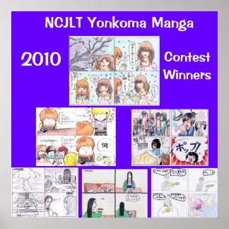 2010 Yonkoma Manga Winners Poster