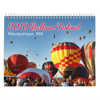 2011 Albuquerque, NM Balloon Festival Wall Calendar