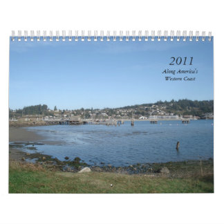 2011, Along America's Western Coast Calendar