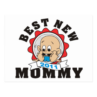 2011 Best New Mommy Postcard