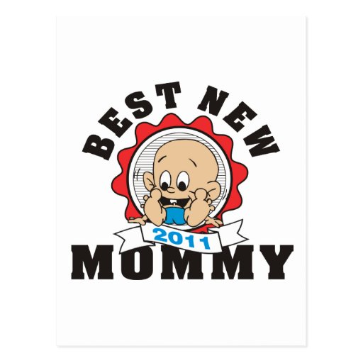 2011 Best New Mommy Postcards