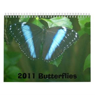 2011 Butterflies Wall Calendars