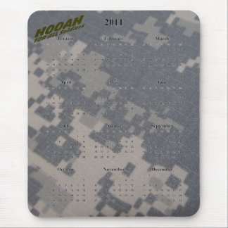 2011 Calendar and Hooah for all Soldiers Mouse Pad